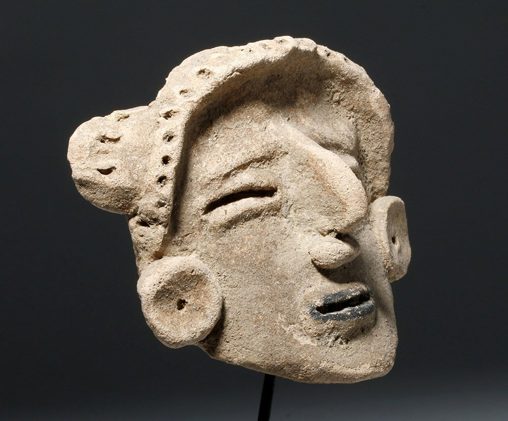 Veracruz Pottery Head - Rare Style - 2