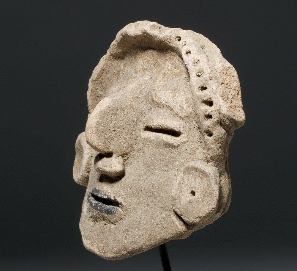 Veracruz Pottery Head - Rare Style - 3