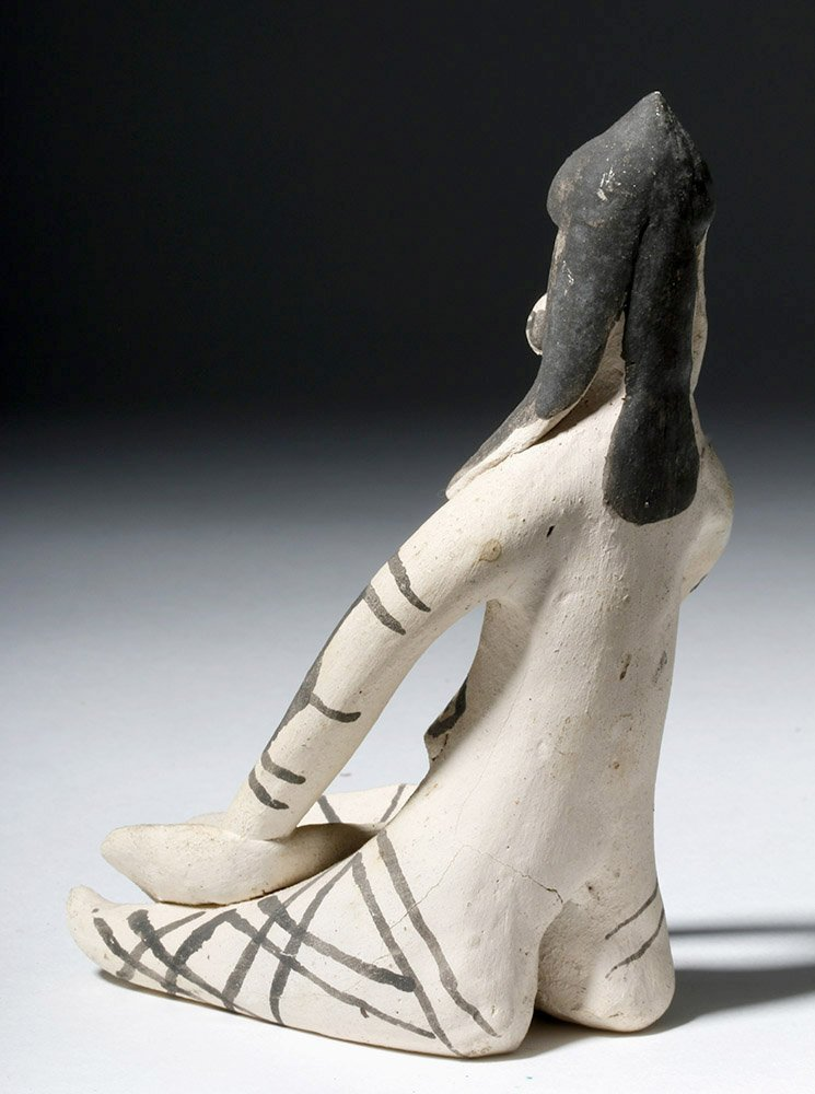 Amazonian Karaja Indian Pottery Female Figure - 2