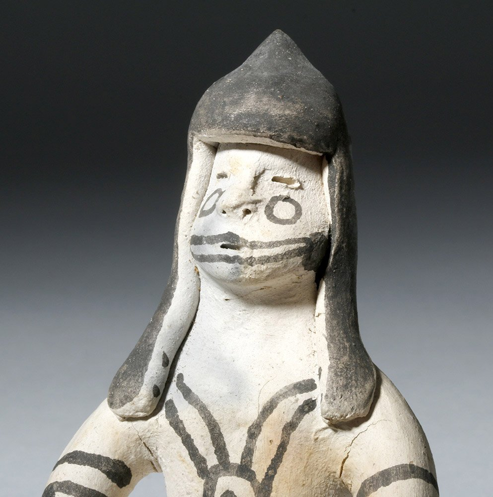 Amazonian Karaja Indian Pottery Female Figure - 5