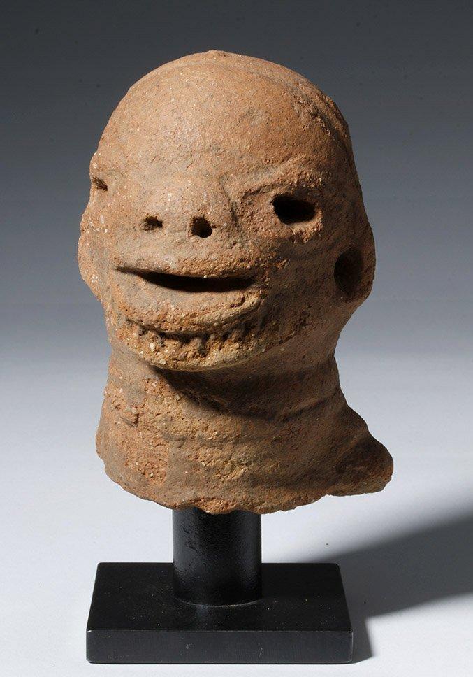 Ancient African Nok Terracotta Head