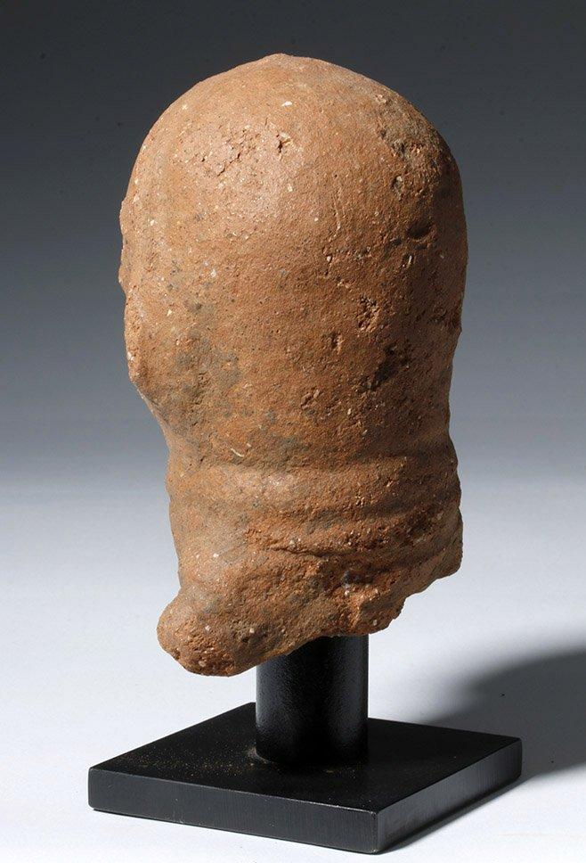 Ancient African Nok Terracotta Head - 2