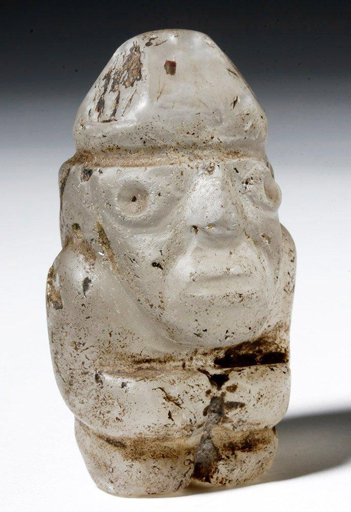 Huari Rock Crystal Human Figure
