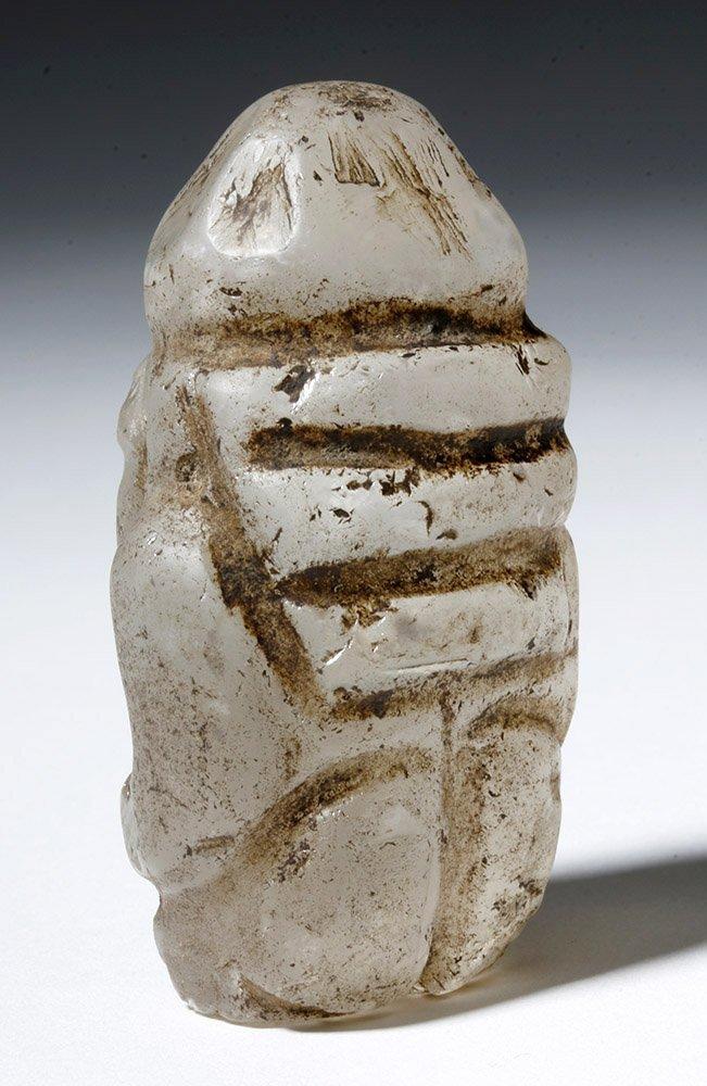 Huari Rock Crystal Human Figure - 2