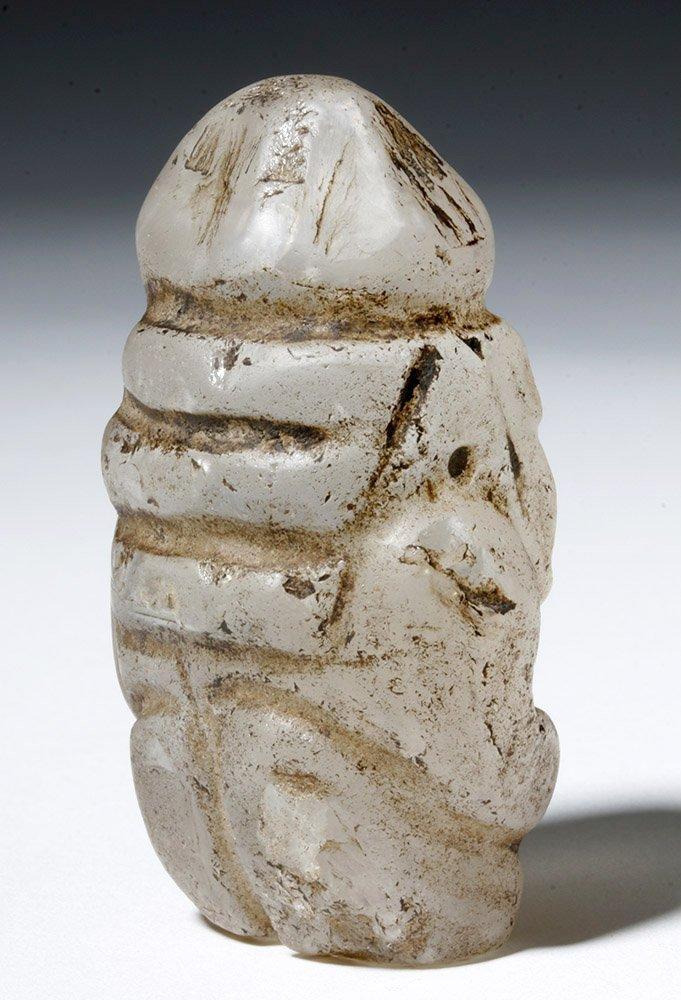 Huari Rock Crystal Human Figure - 3