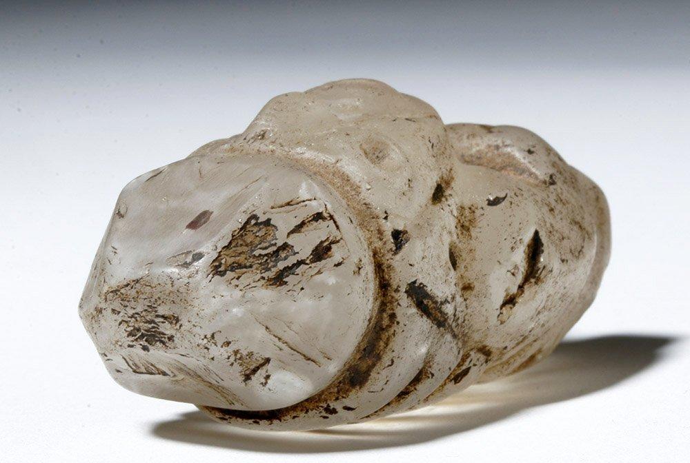 Huari Rock Crystal Human Figure - 6