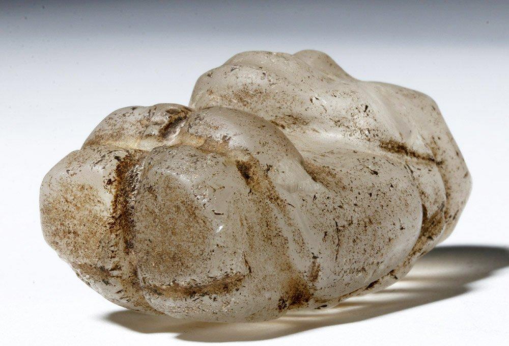 Huari Rock Crystal Human Figure - 7