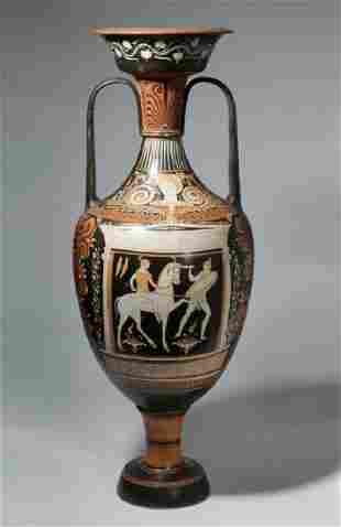 Huge Apulian Red-Figure Amphora, ex-Royal Athena