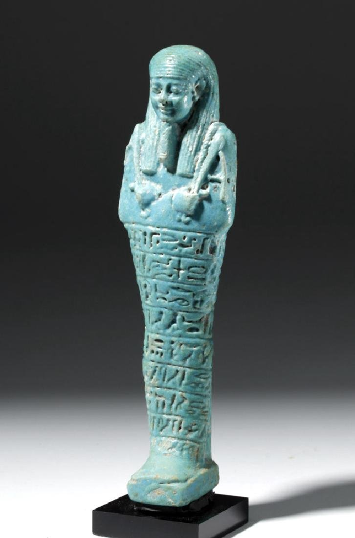 Ancient Egyptian Shabti for Ankhemmaat, ex-Sotheby's