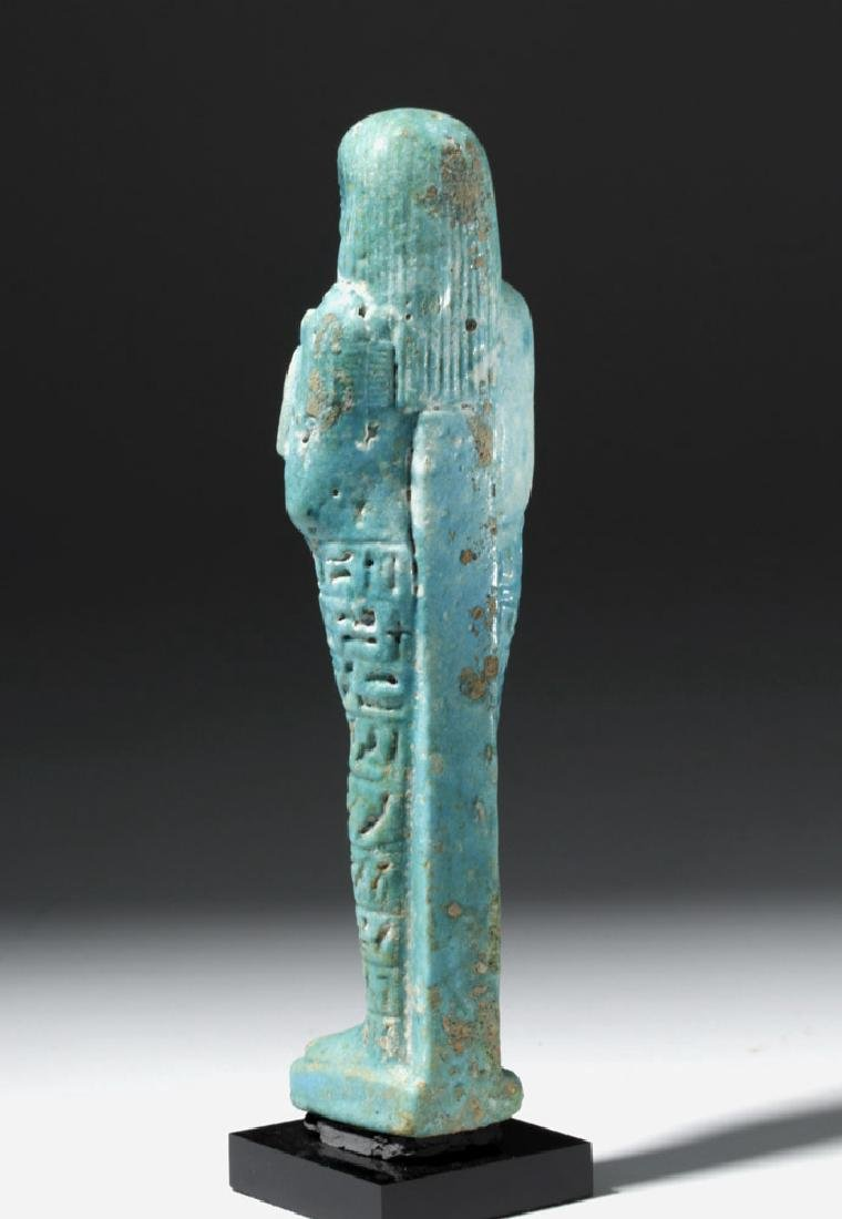 Ancient Egyptian Shabti for Ankhemmaat, ex-Sotheby's - 2