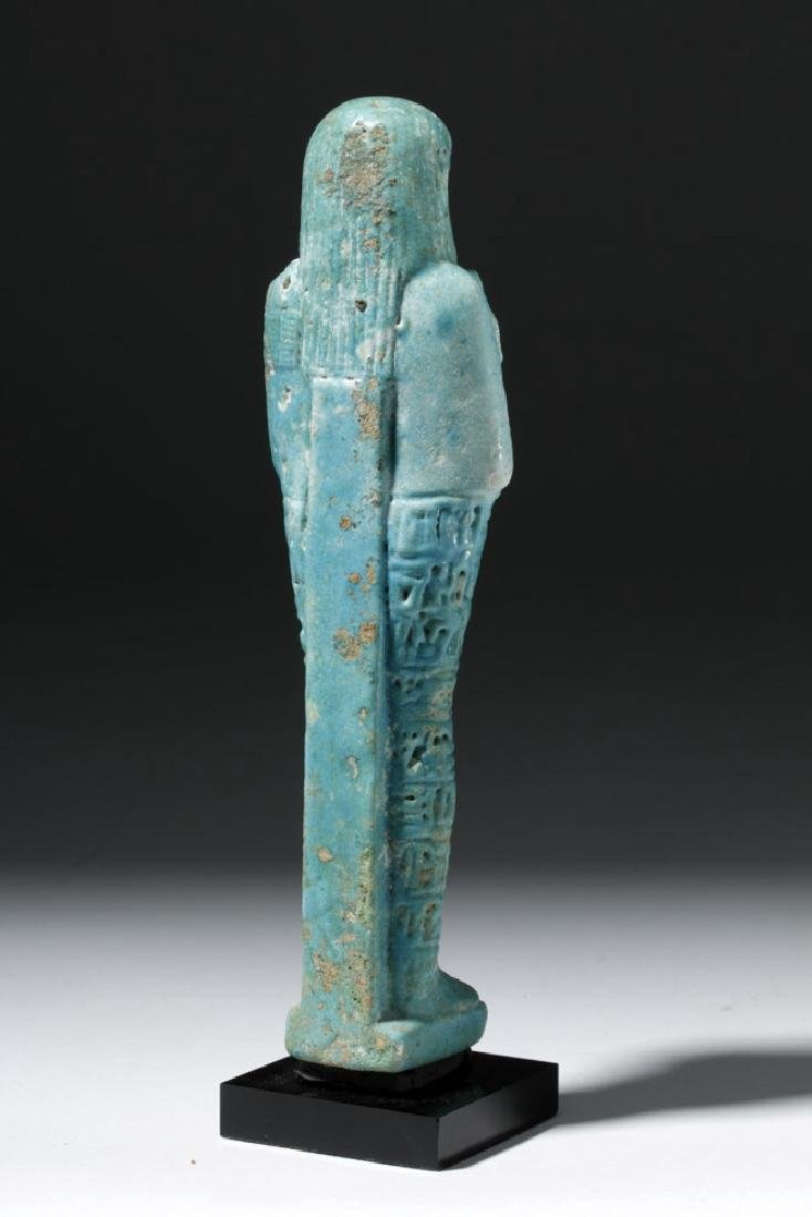 Ancient Egyptian Shabti for Ankhemmaat, ex-Sotheby's - 3