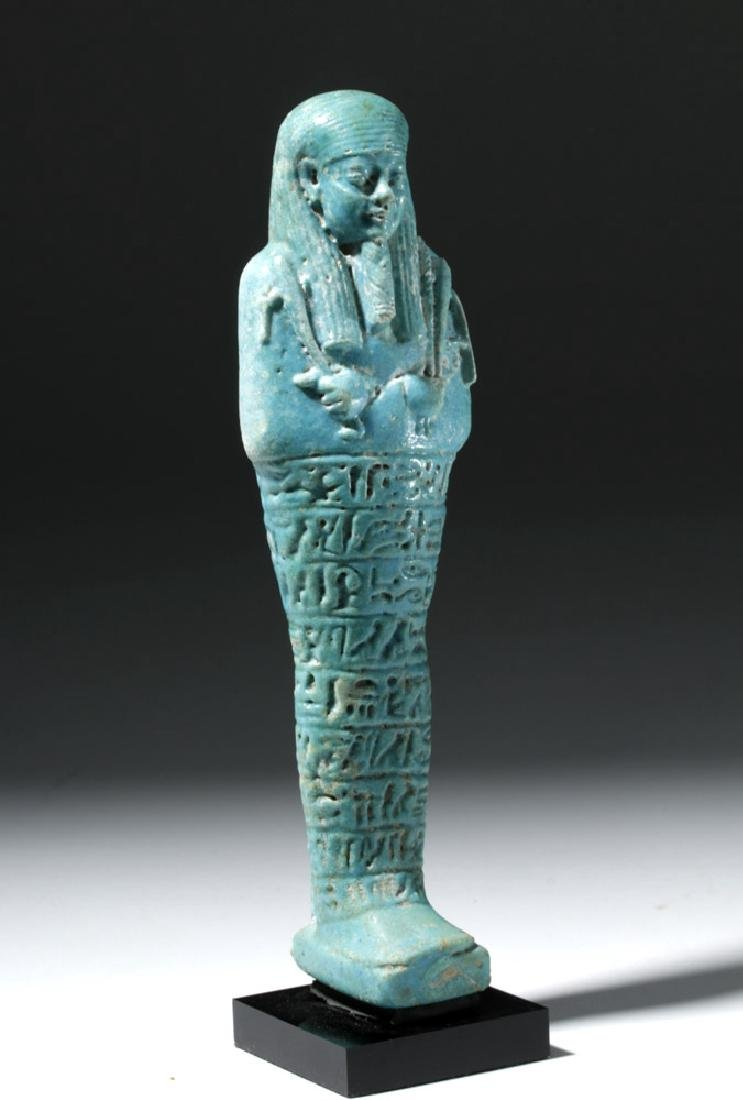 Ancient Egyptian Shabti for Ankhemmaat, ex-Sotheby's - 4
