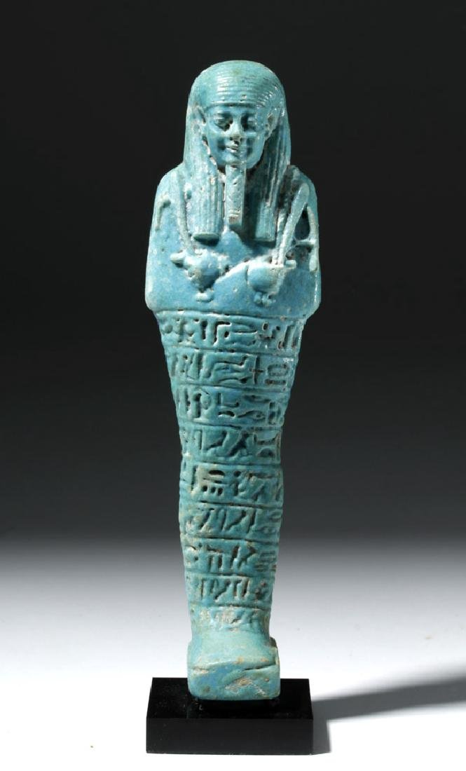 Ancient Egyptian Shabti for Ankhemmaat, ex-Sotheby's - 5