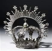 Huge Bolivian Silver Crown  Resplendor  678 grams
