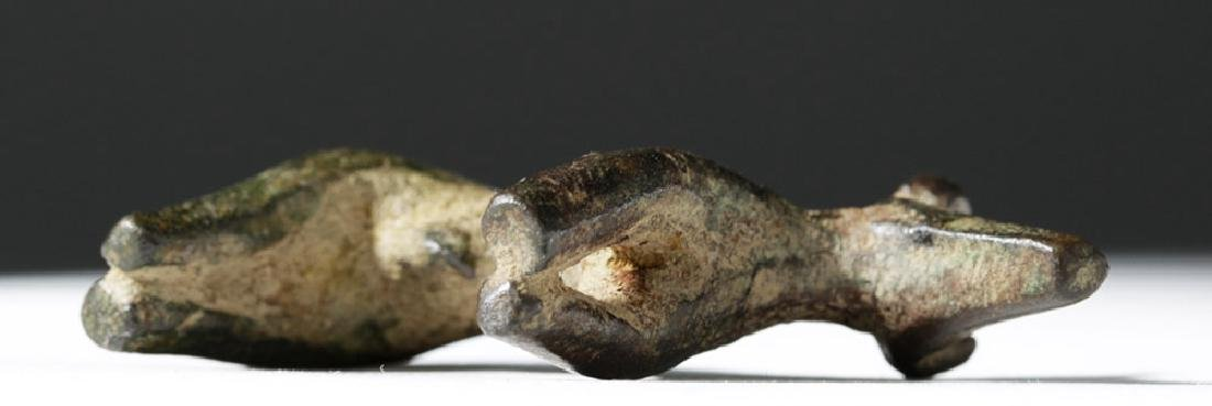 Greek Geometric Period Bronze Bull - 6