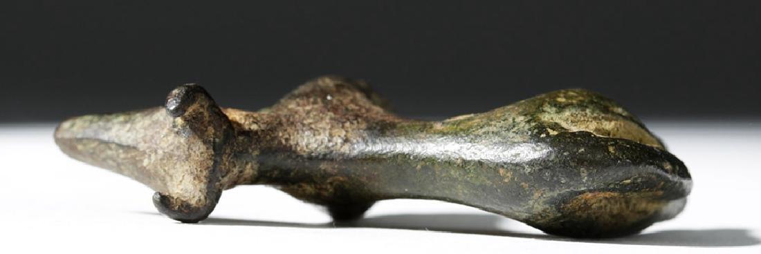 Greek Geometric Period Bronze Bull - 7