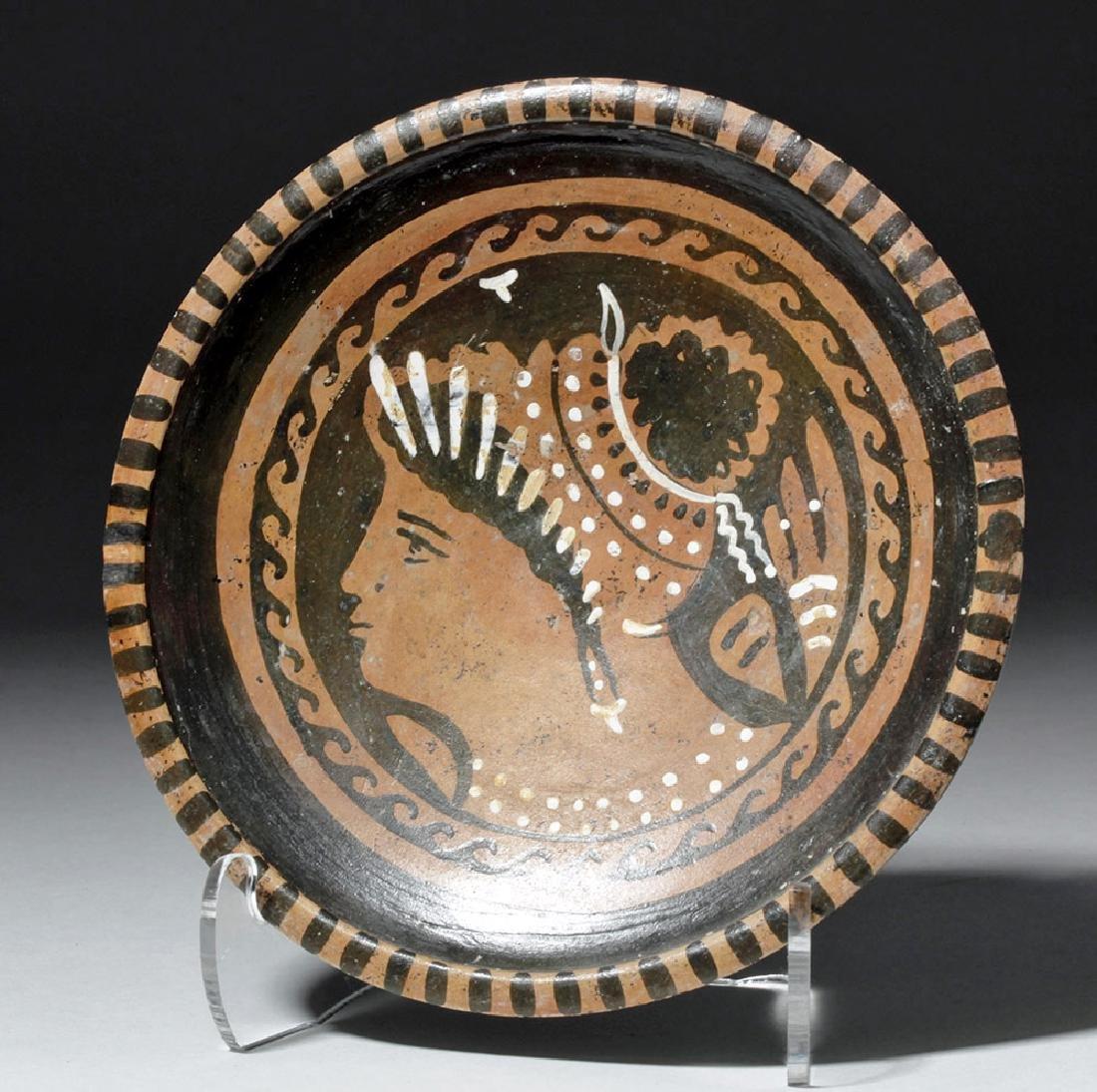 Greek Apulian Lady of Fashion Plate
