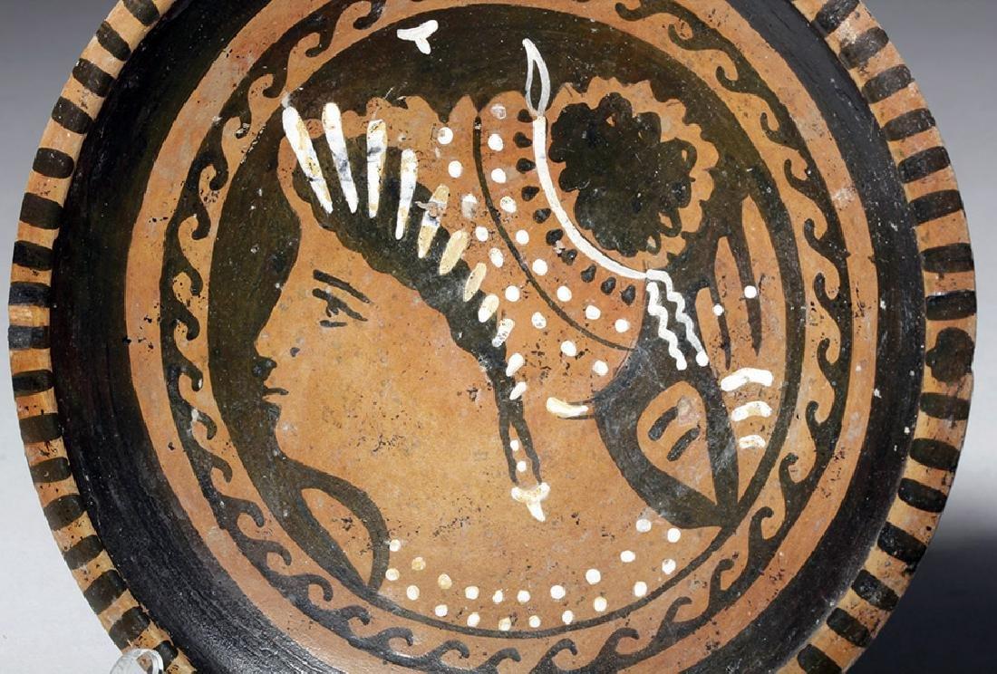 Greek Apulian Lady of Fashion Plate - 2