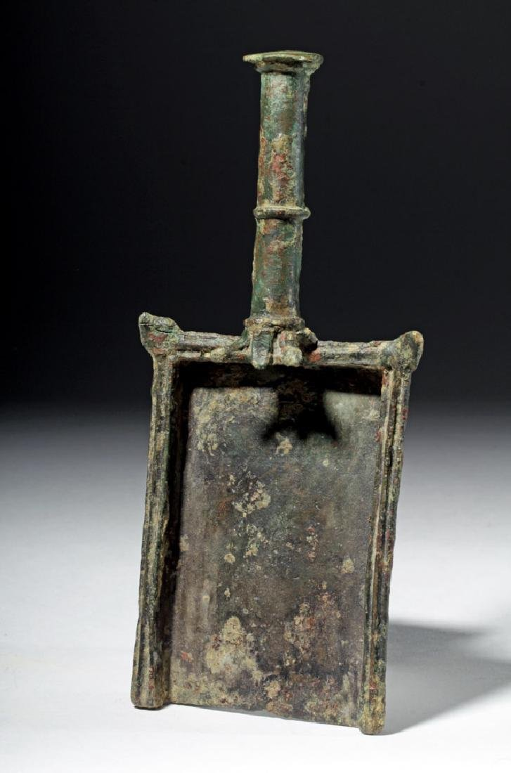Roman Bronze Batillum (Incense Shovel)