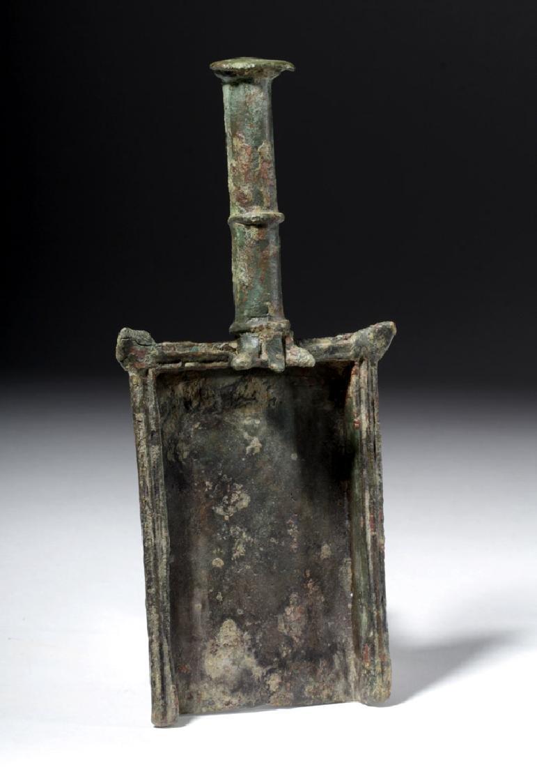 Roman Bronze Batillum (Incense Shovel) - 3