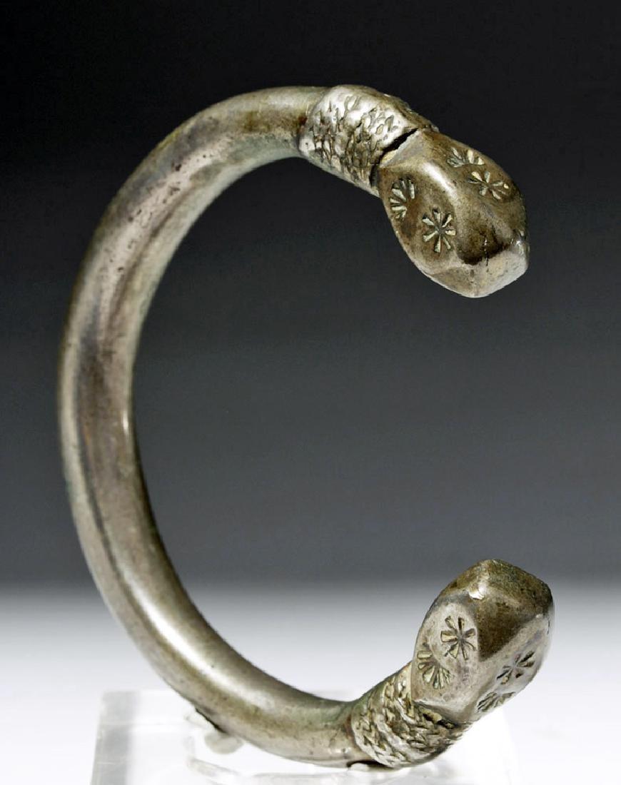 Parthian / Sassanian Silver Bracelet