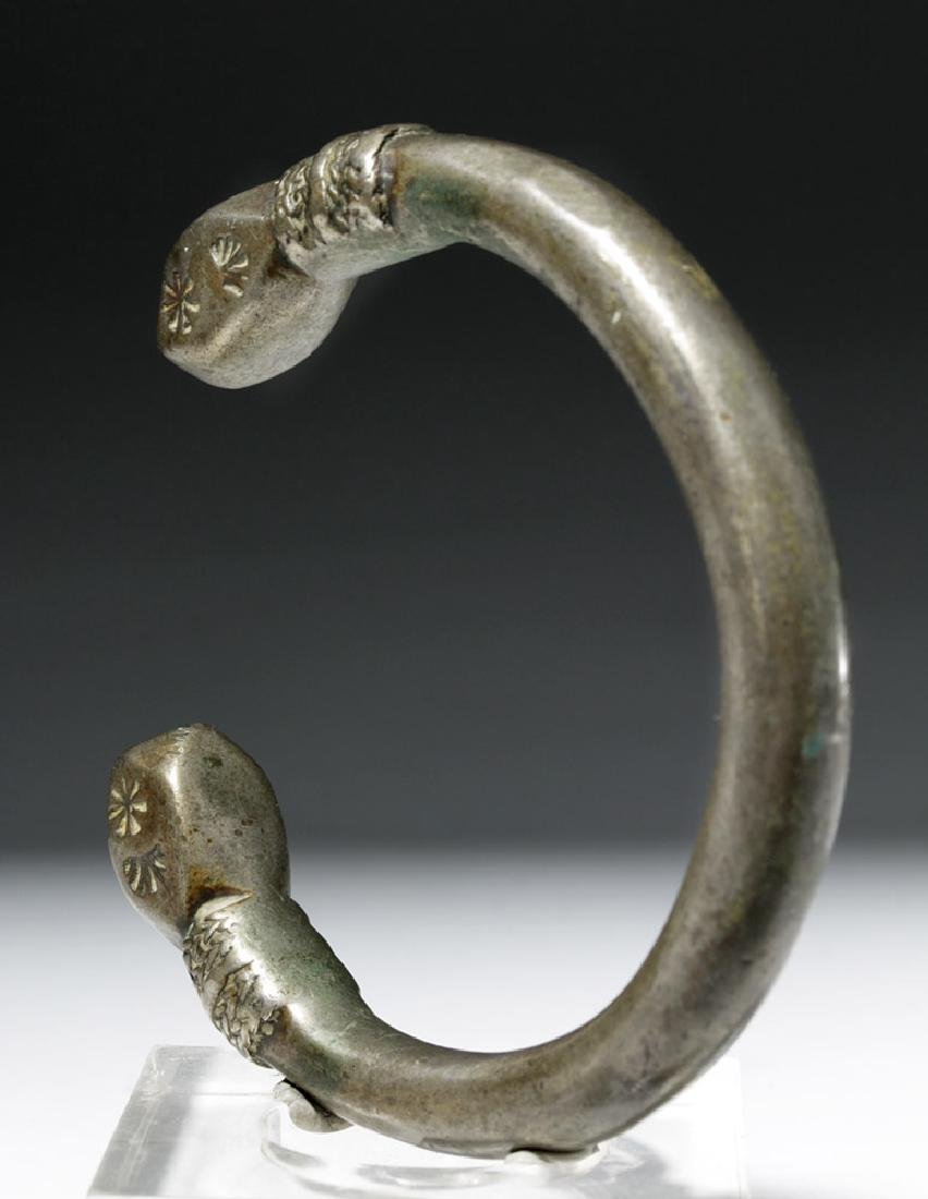 Parthian / Sassanian Silver Bracelet - 2