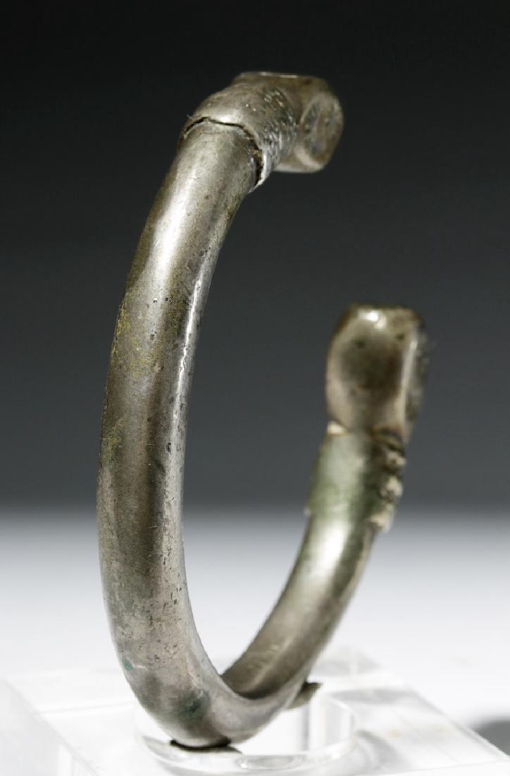 Parthian / Sassanian Silver Bracelet - 3