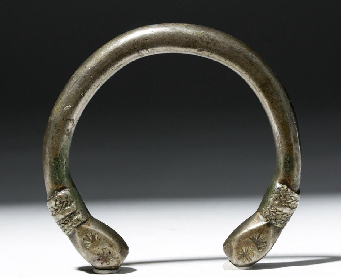 Parthian / Sassanian Silver Bracelet - 5