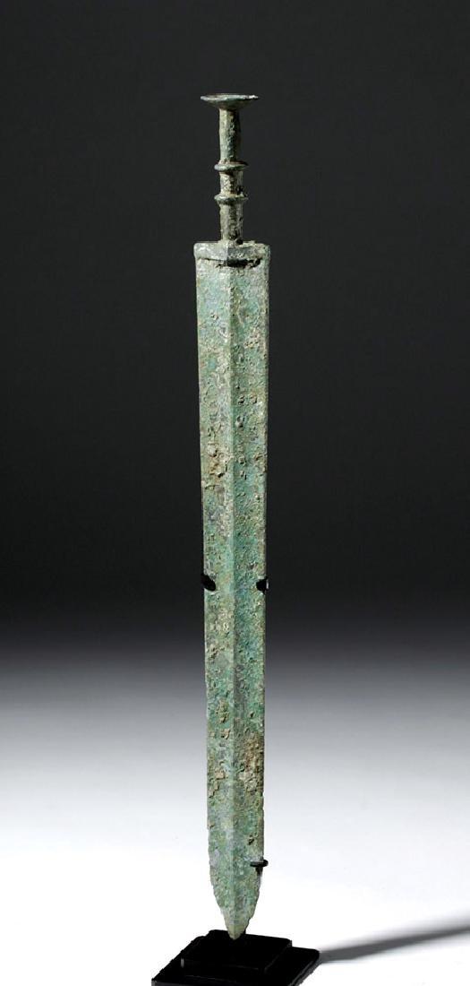 Chinese Warring States Bronze Sword