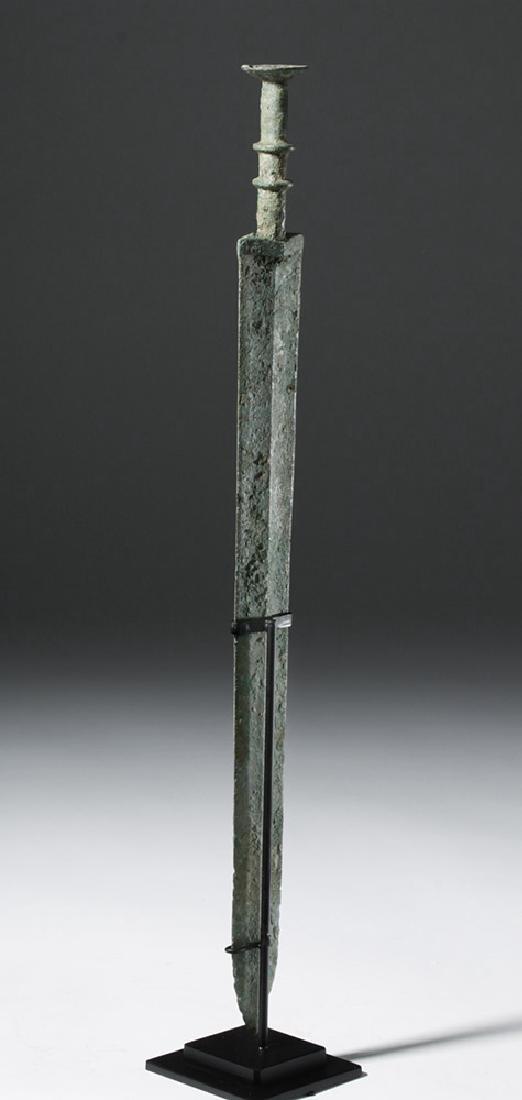 Chinese Warring States Bronze Sword - 2