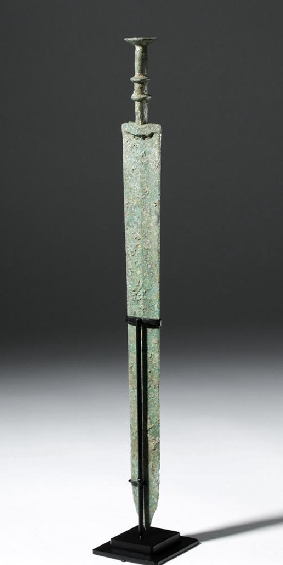 Chinese Warring States Bronze Sword - 3