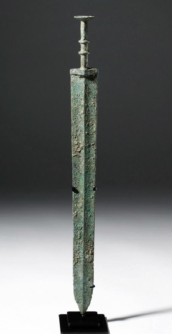 Chinese Warring States Bronze Sword - 5
