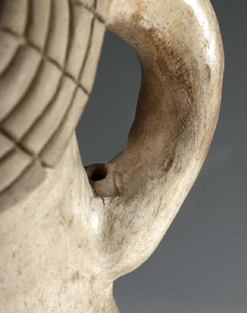 Very Rare Chorrera Pottery Human Figural Whistle - 9