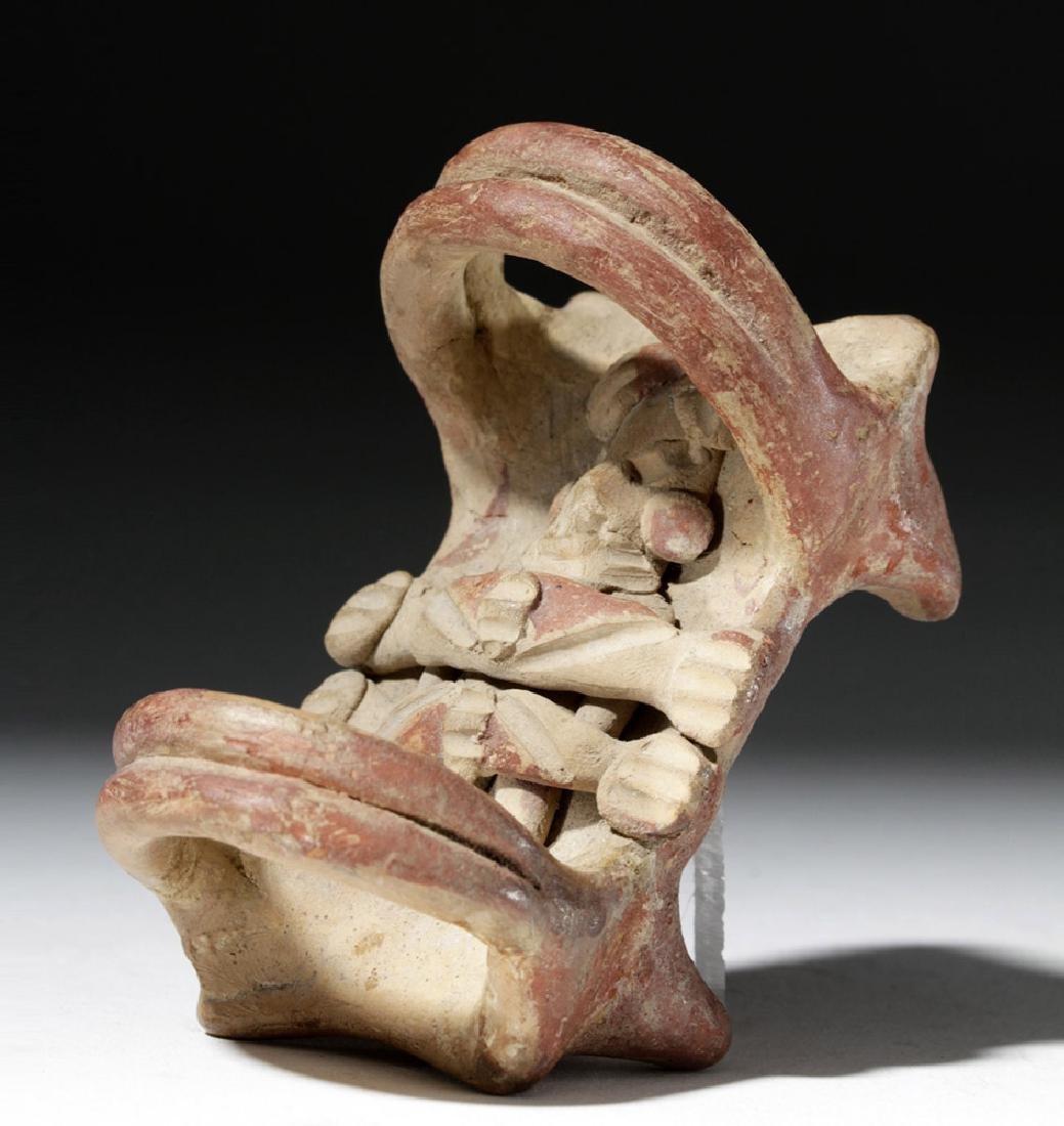 Choice Michoacan Pottery Bedded Figure