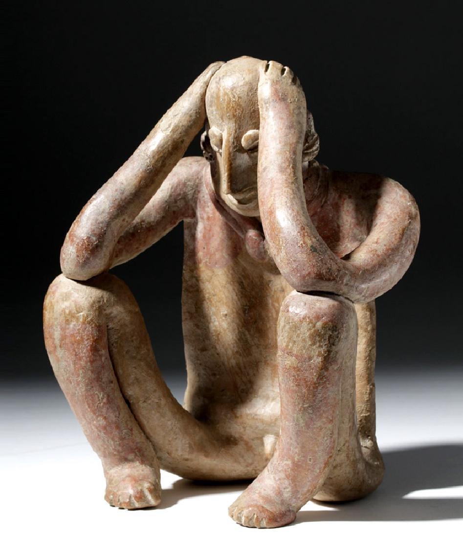 Emotive Colima Pottery Seated Flat