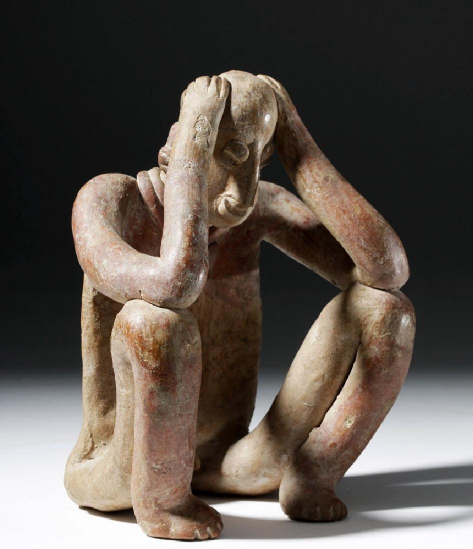 Emotive Colima Pottery Seated Flat - 3