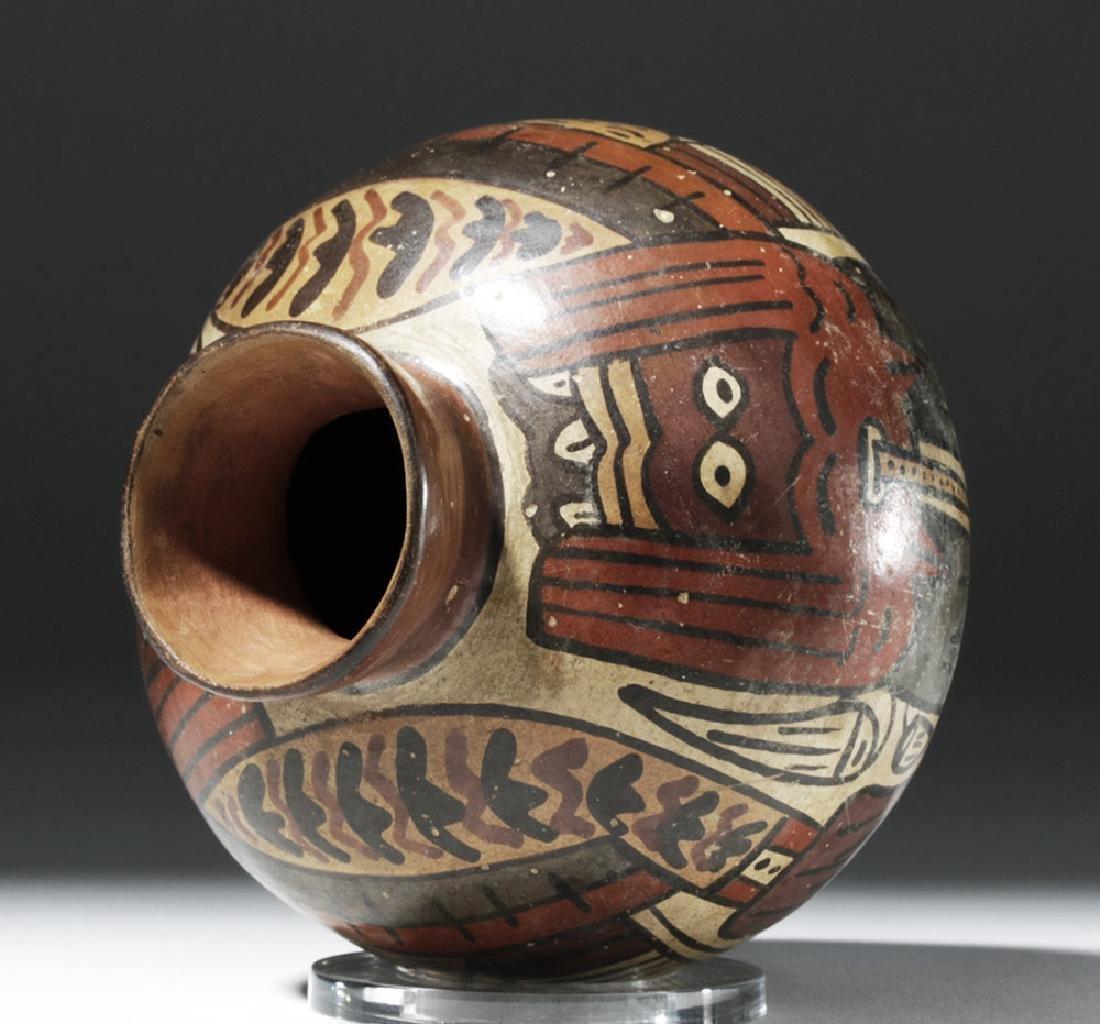 Attractive Nazca Pottery Polychrome Olla - 7