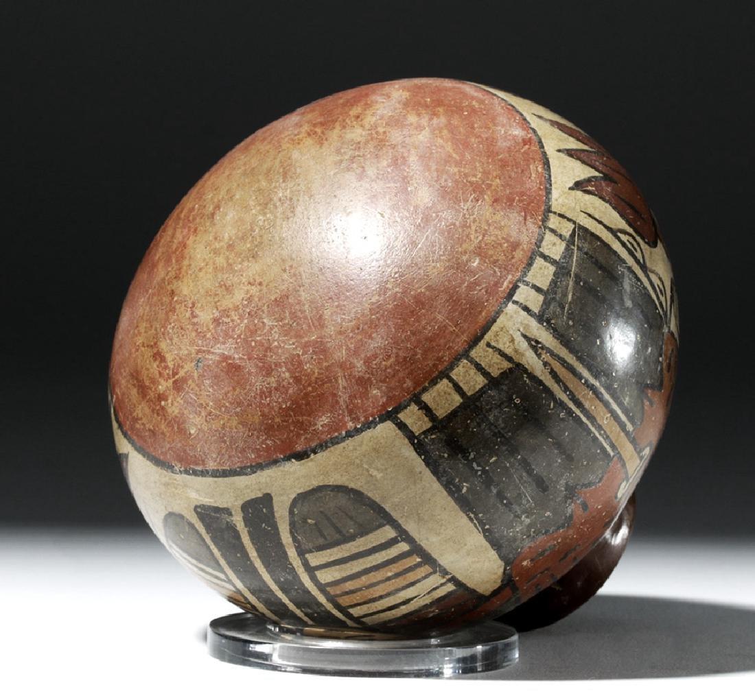 Attractive Nazca Pottery Polychrome Olla - 8