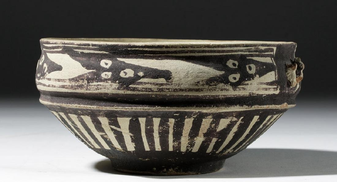 Attractive Chancay Bichrome Bowl - 2