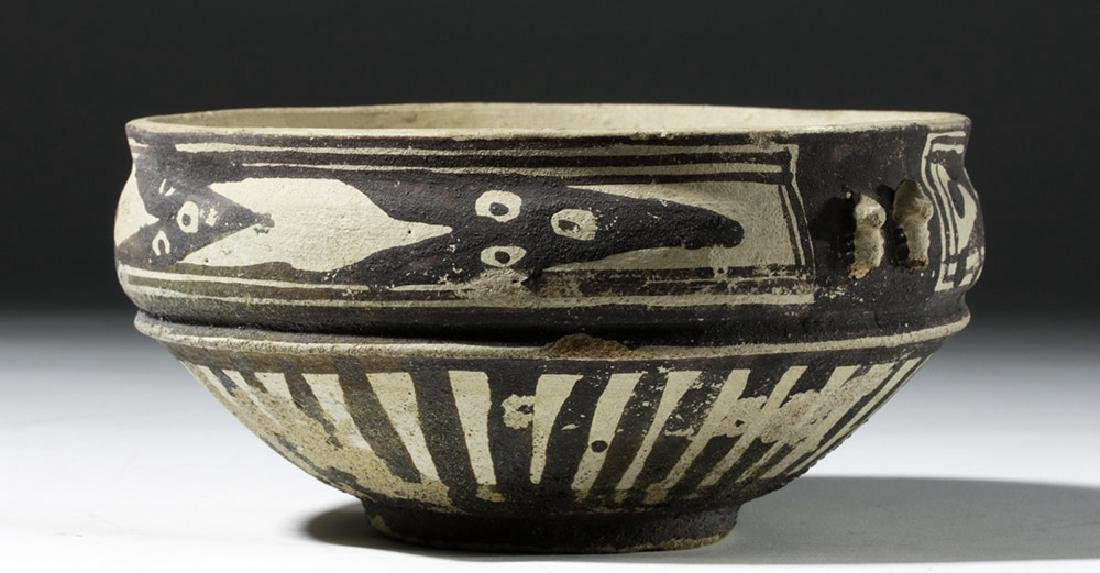 Attractive Chancay Bichrome Bowl - 4