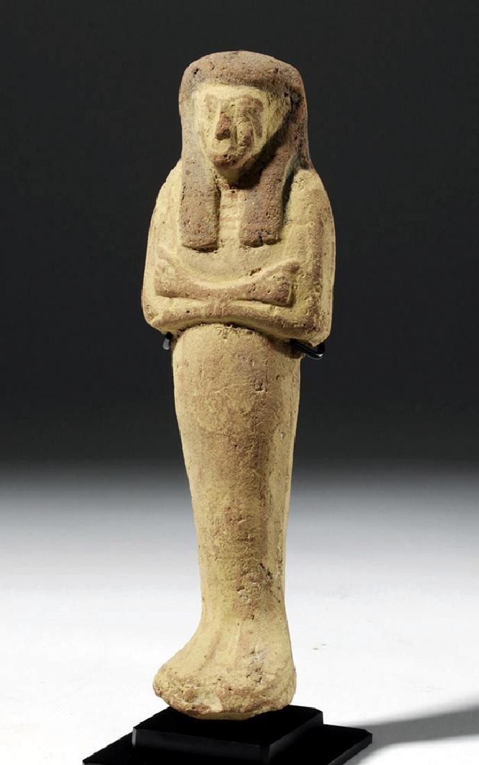 Large Egyptian New Kingdom Terracotta Ushabti