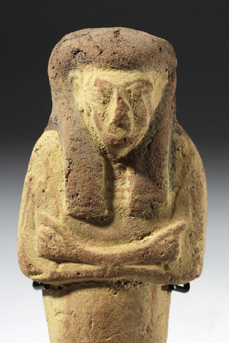 Large Egyptian New Kingdom Terracotta Ushabti - 2