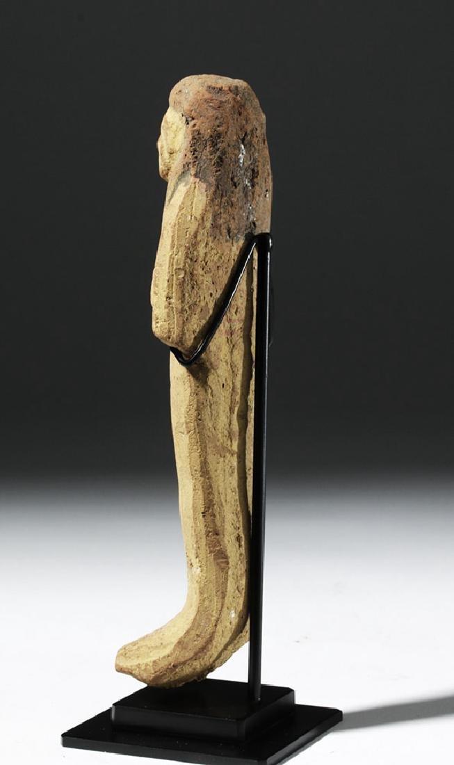Large Egyptian New Kingdom Terracotta Ushabti - 3