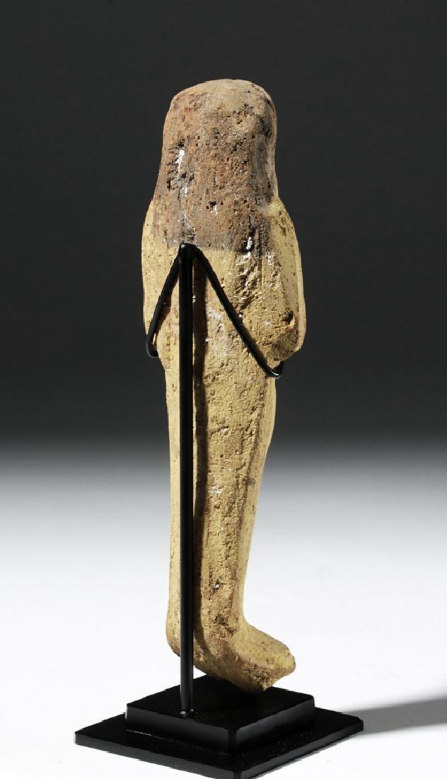 Large Egyptian New Kingdom Terracotta Ushabti - 4