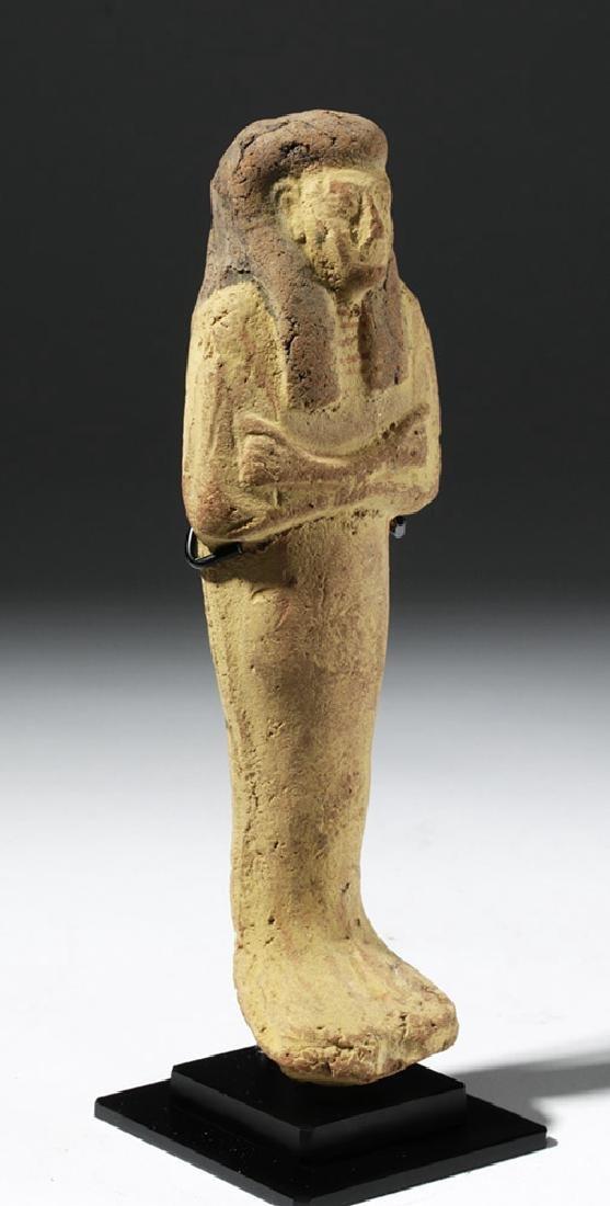 Large Egyptian New Kingdom Terracotta Ushabti - 5