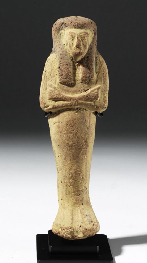 Large Egyptian New Kingdom Terracotta Ushabti - 6
