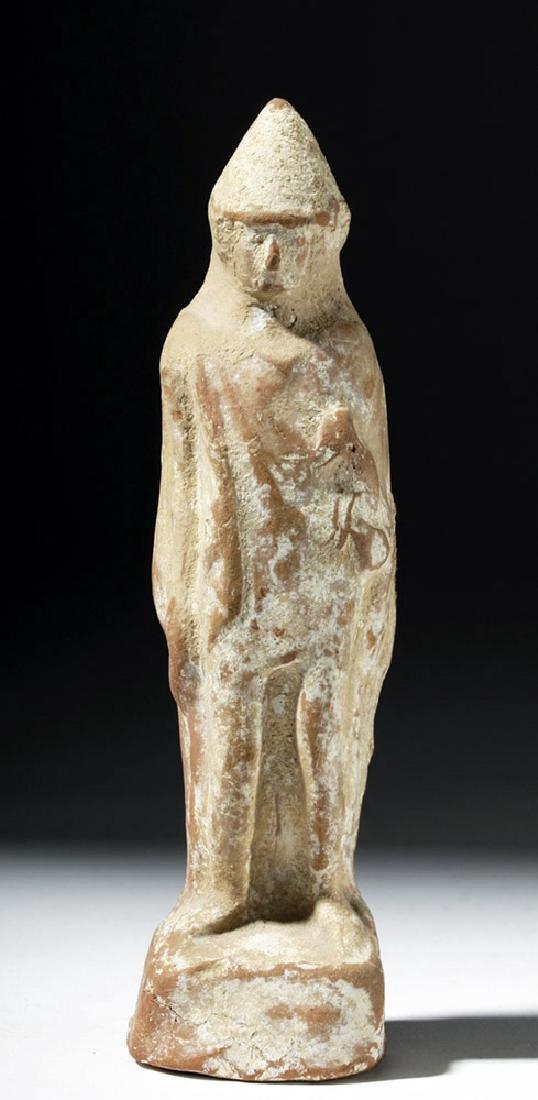 Greek Boeotian Pottery Votive of Eros