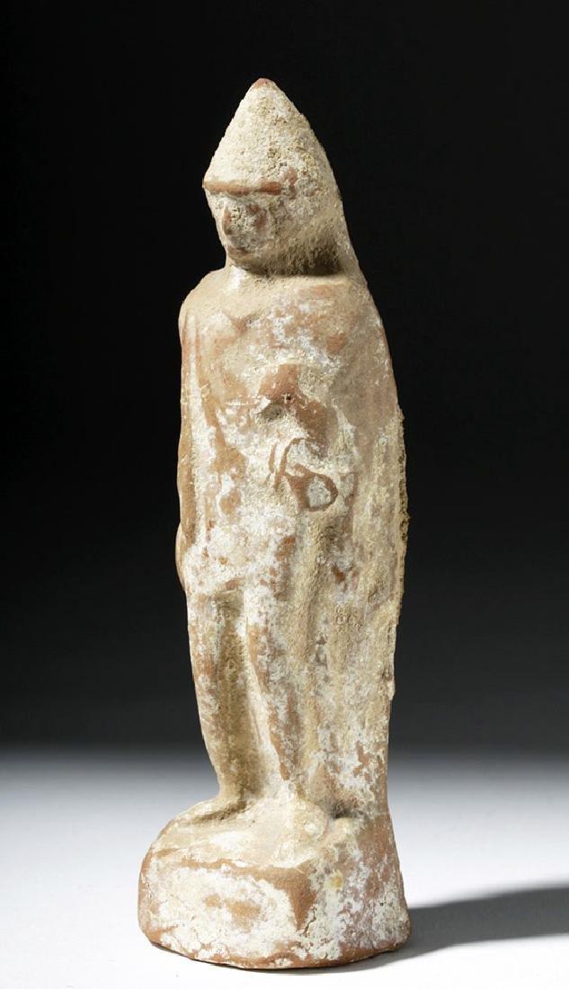 Greek Boeotian Pottery Votive of Eros - 5