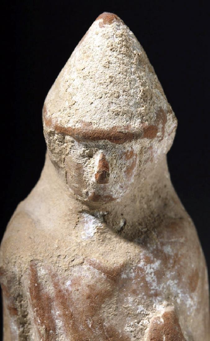 Greek Boeotian Pottery Votive of Eros - 6