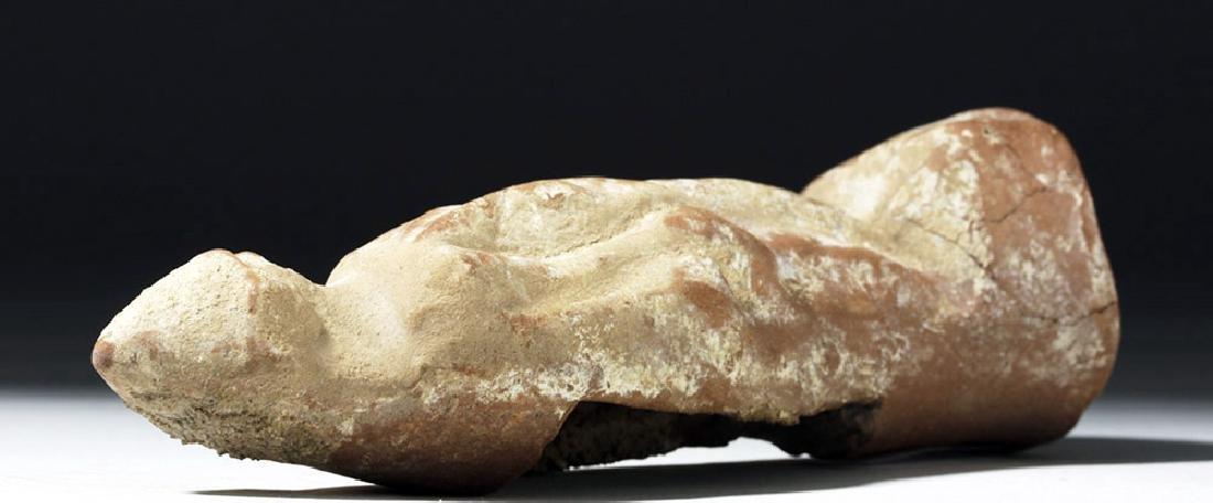Greek Boeotian Pottery Votive of Eros - 8